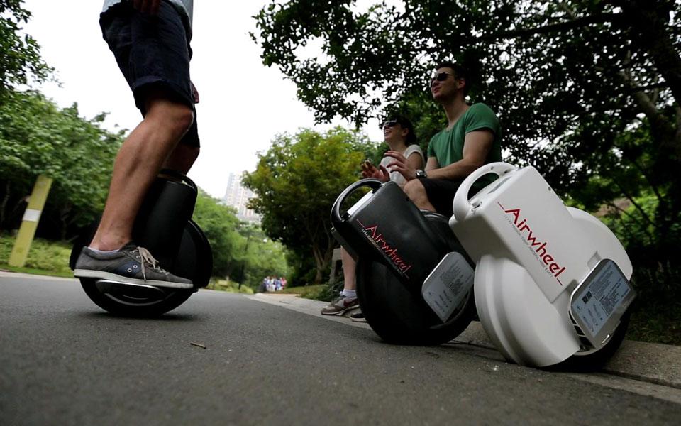 Airwheel Q3,  monociclo eléctrico 2 ruedas