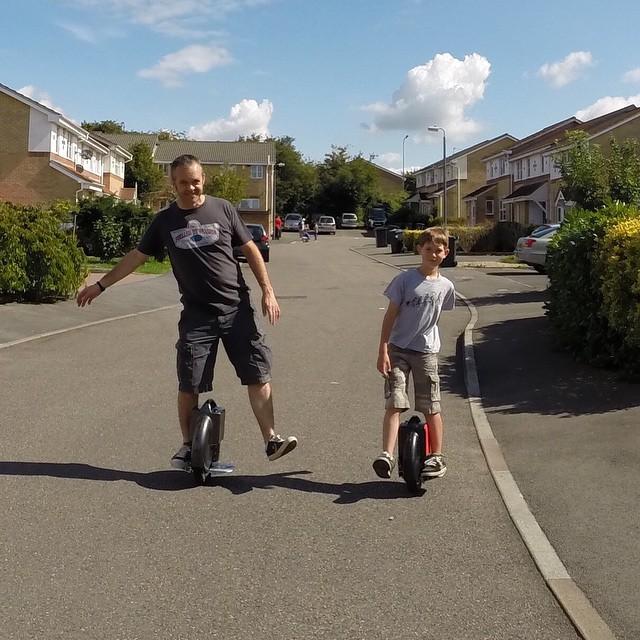 Airwheel, auto-equilibrio scooter