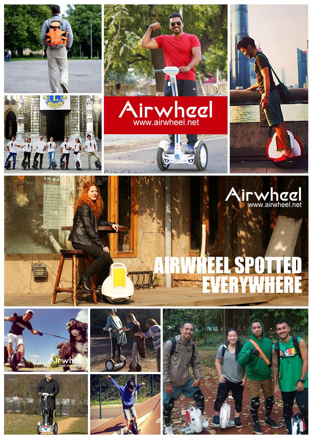 Integración de Noción y Espíritu, Airwheel Está Formando la Nueva Era del Equilibrio Scooter Eléctrico