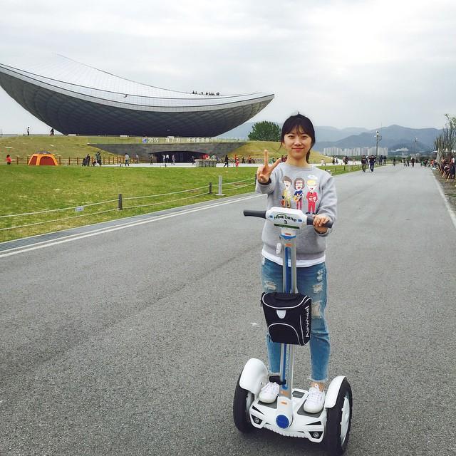 2-ruedas eléctrico scooter, Airwheel
