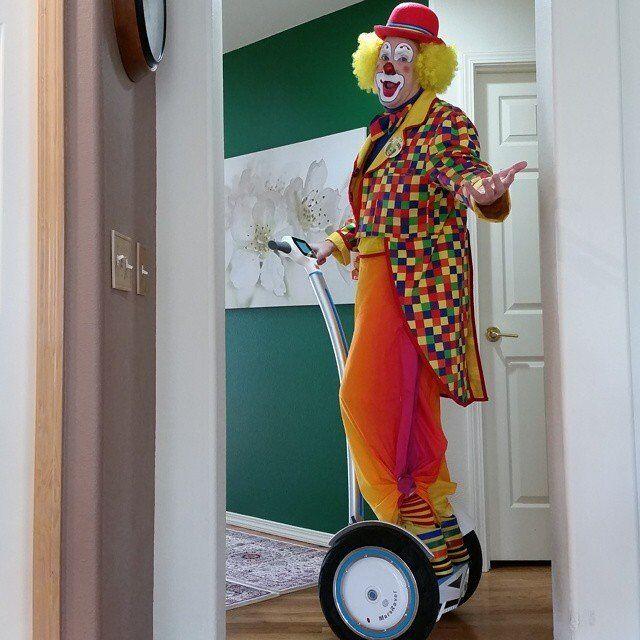 Deje Airwheel Auto-equilibrio Scooter Mantener Su Movimiento