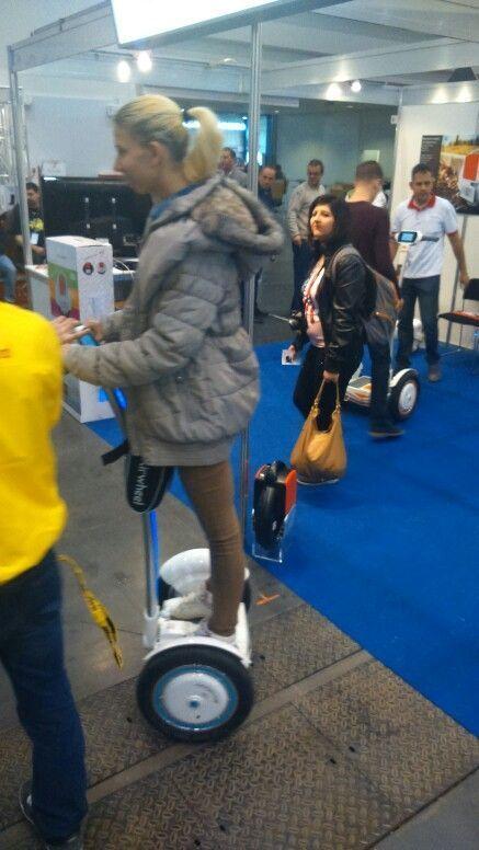 S3 eléctrico monociclo, Airwheel eléctrico scooter