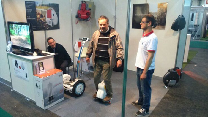 scooter eléctrico, Airwheel