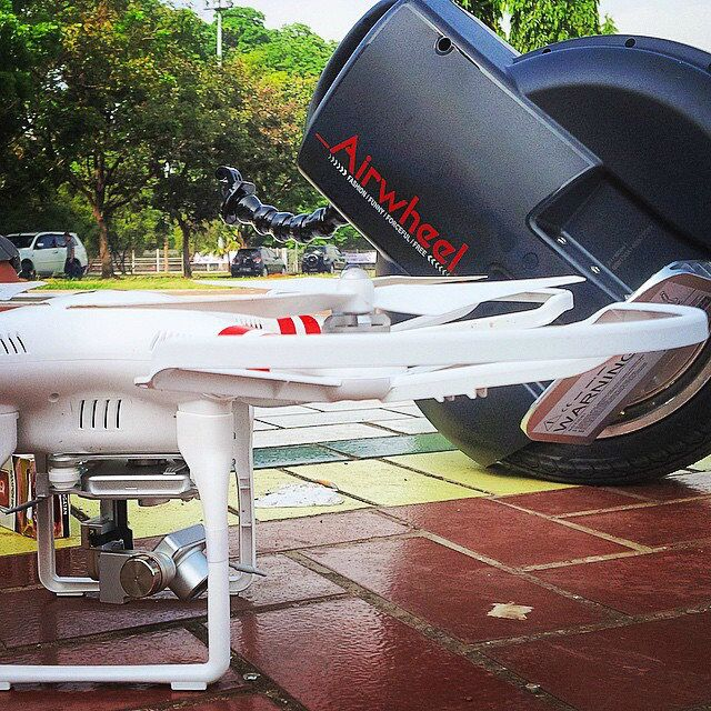 auto equilibrio eléctrico monociclo, Airwheel