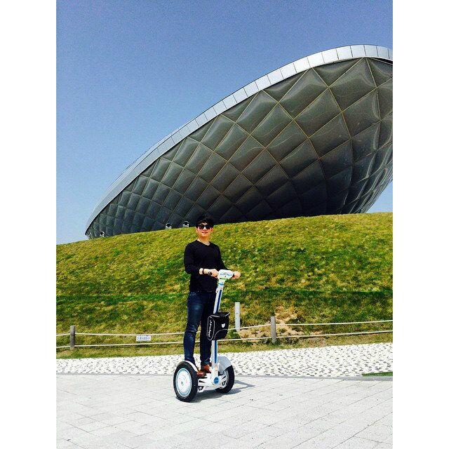 Airwheel, la mejor opción para auto-equilibrio scooter eléctrico