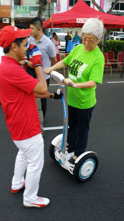 ¿Eres experto en el scooter inteligente de auto-equilibrio S3 de Airwheel?