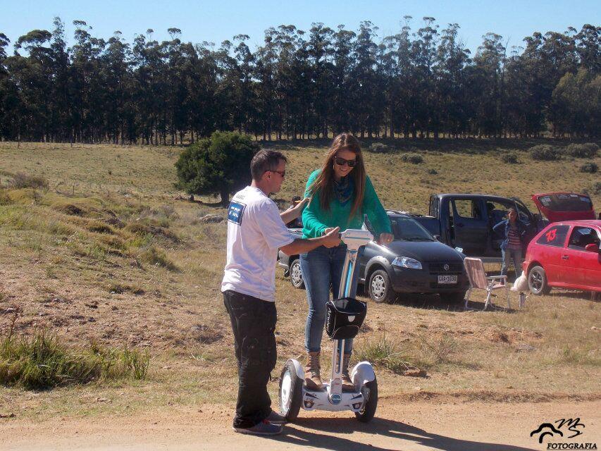 Airwheel monociclo eléctrico, tano resistente y elegante como eficiente en energía