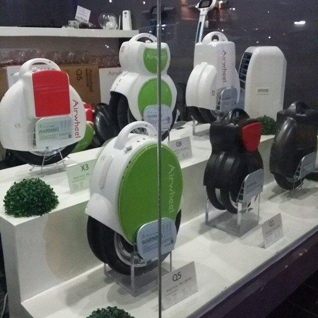 eléctrico monociclo, Airwheel