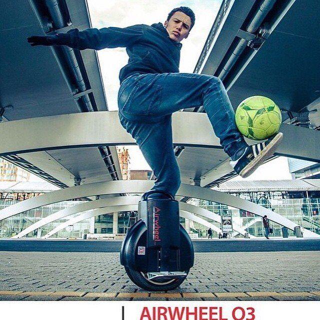 monociclo eléctrico, Airwheel