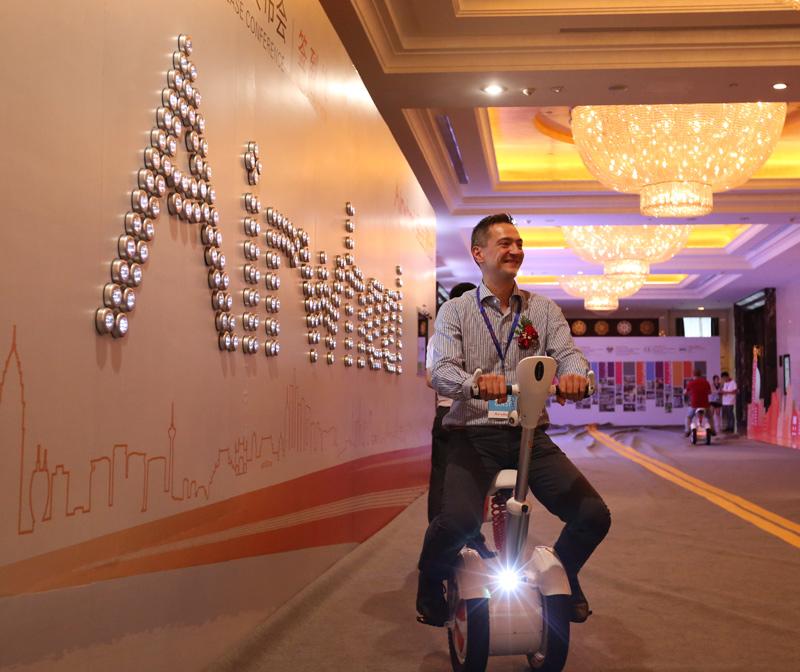Airwheel A3, novedades scooters eléctricos
