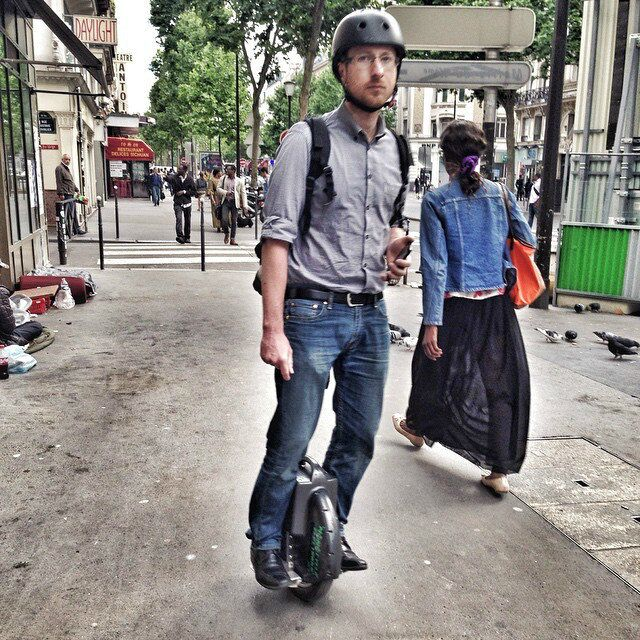X3 una rueda scooter