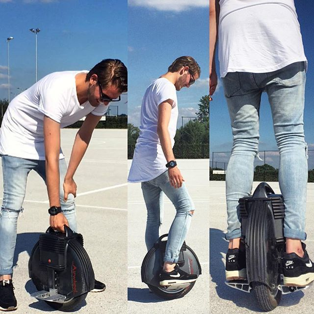 Airwheel X8, monociclo electrica