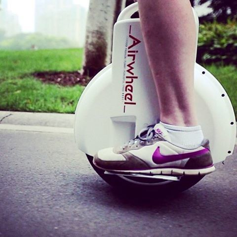 Airwheel Q3, rueda electrica