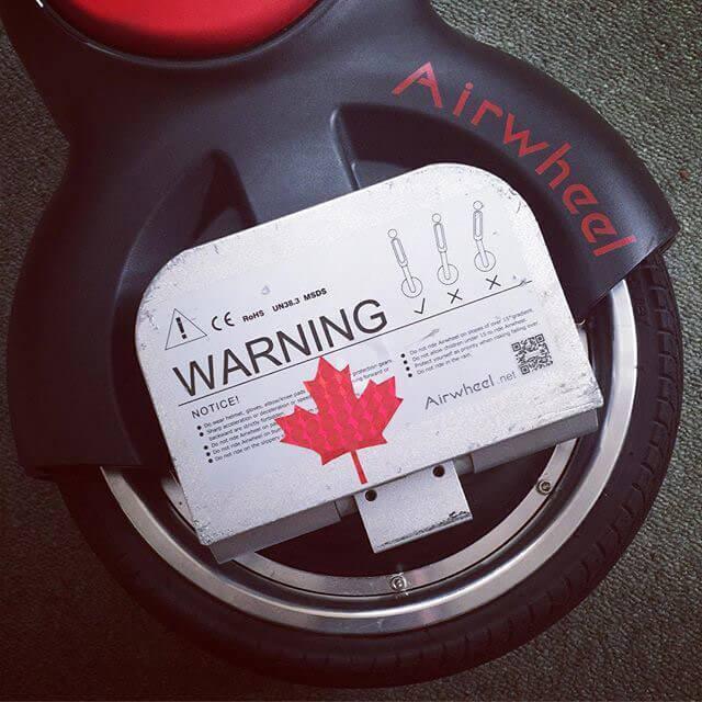 Airwheel Q1, monociclo eléctrico de dos ruedas