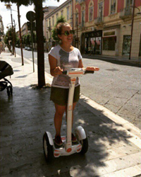single wheel segway