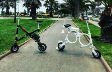 Airwheel E3 smart folding electric bicycle