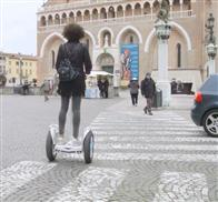smart self balancing electric scooter