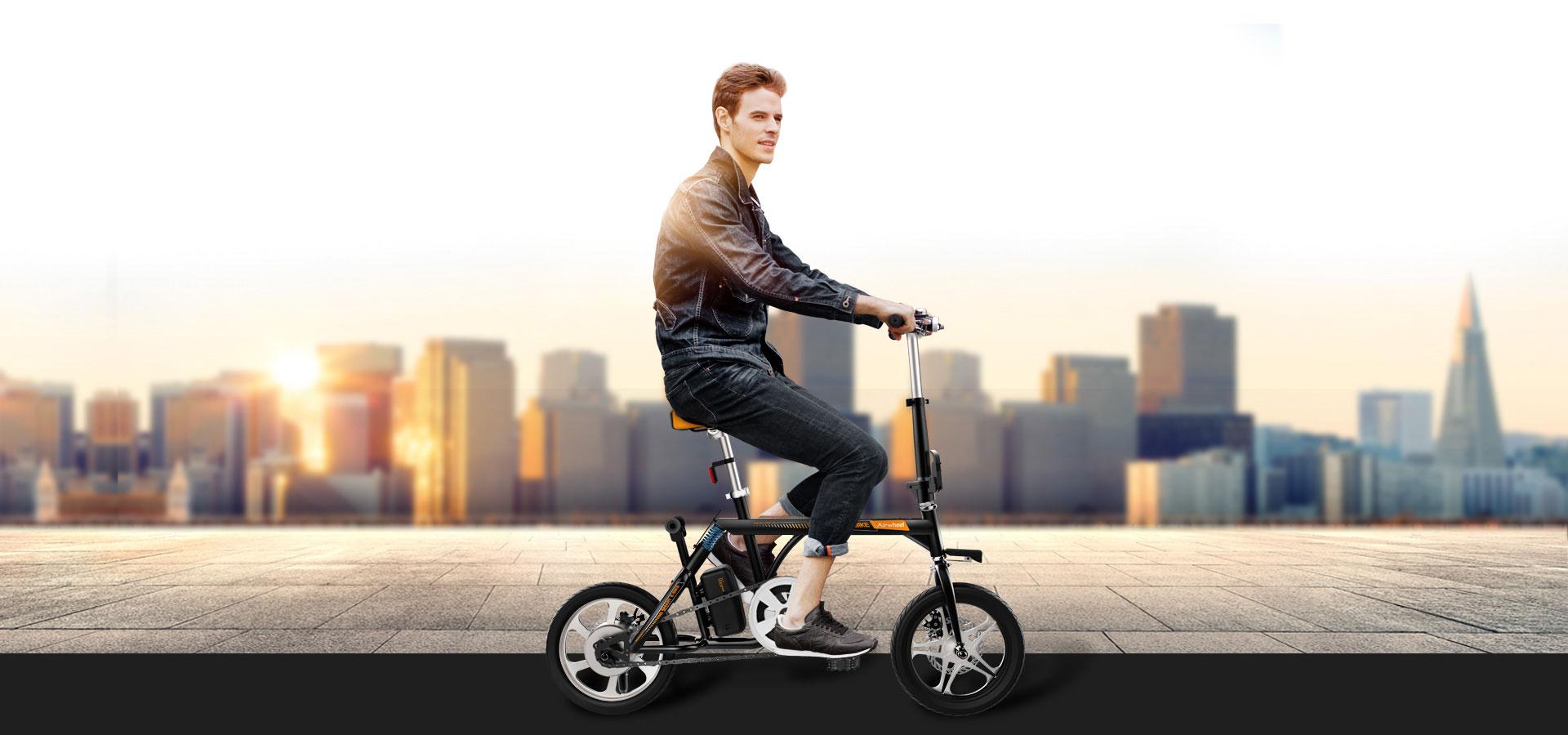 Airwheel R3 eléctrica bicicleta