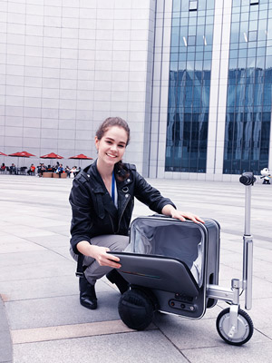 Airwheel SE3 Riding suitcase