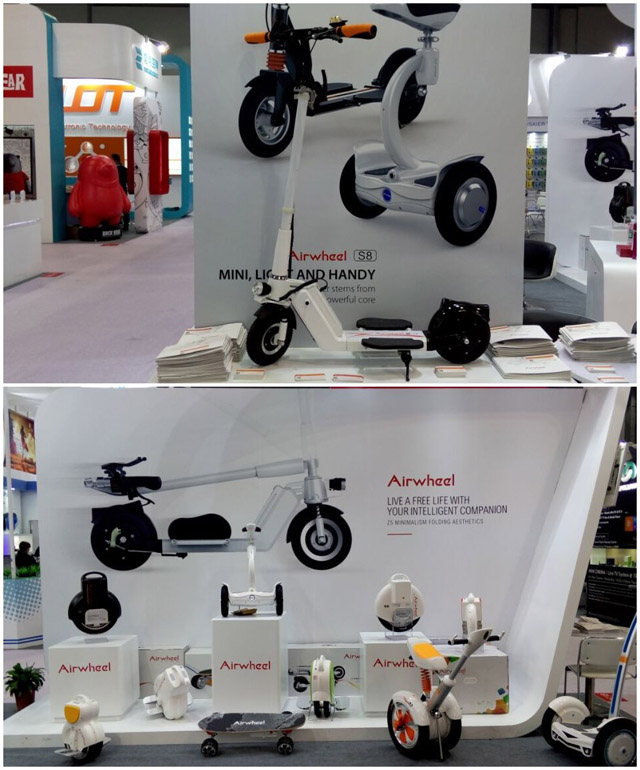 Airwheel scooter eléctrico
