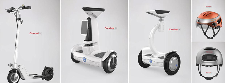 auto equilibrio eléctrico monociclo