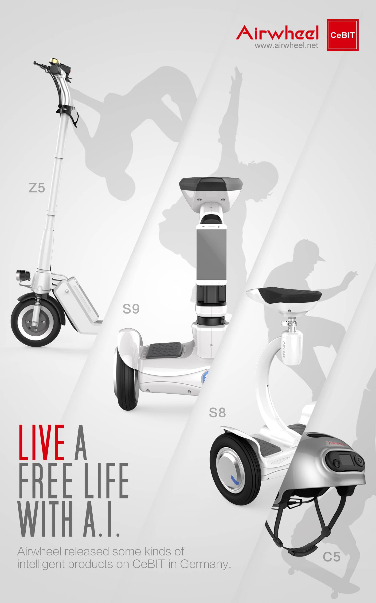 monociclo eléctrica Airwheel